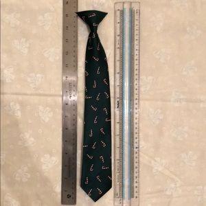 Children's Christmas clip on tie